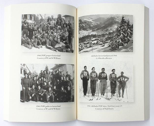photo spread of book