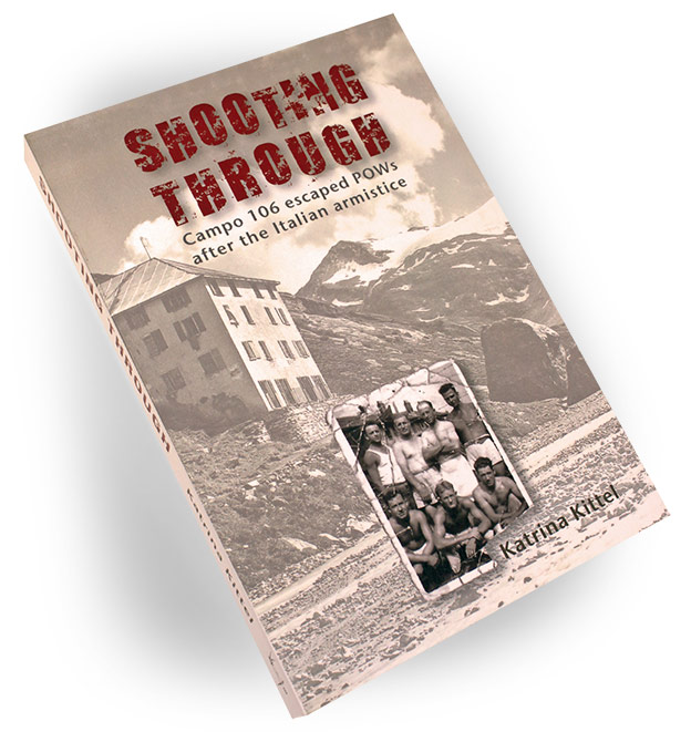 cover of Shooting Through, by Katrina Kittel