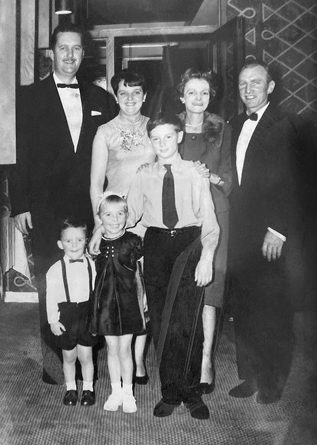 Photo of William McBeth's family