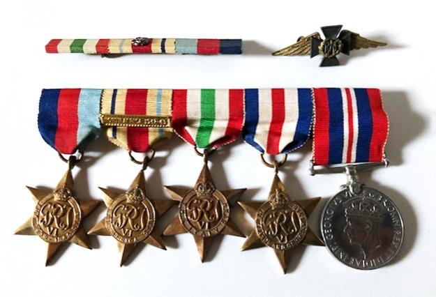 Niel's medals